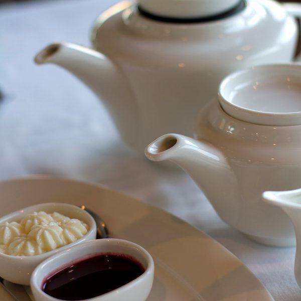 Tea service at Grand Residences Riviera Cancun
