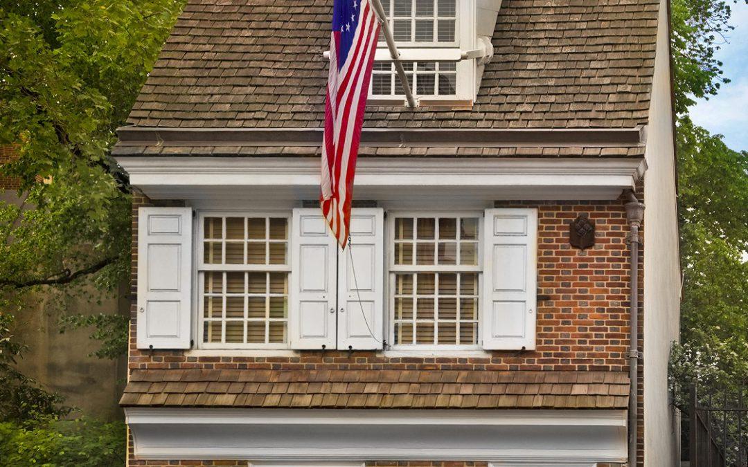 To Philadelphia and America's most historic square mile