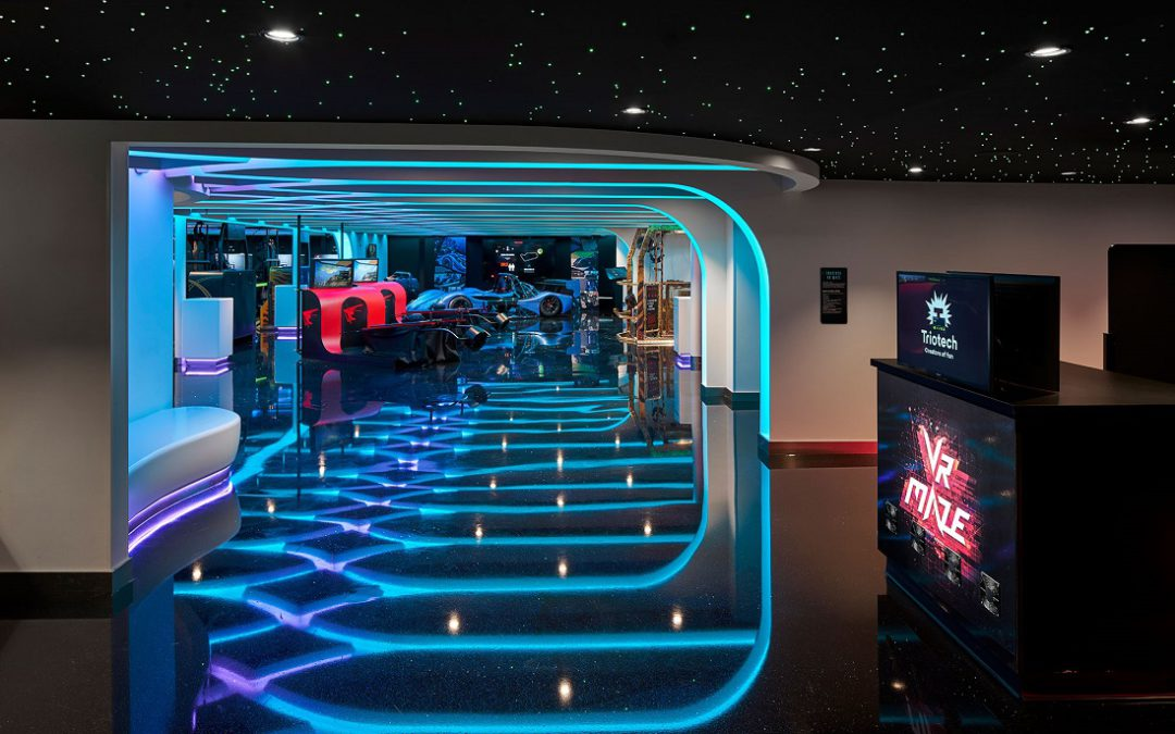 On the newest, glitziest ship afloat