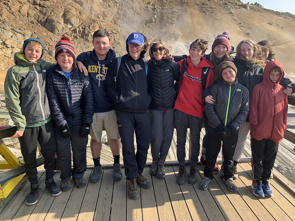 The Halpern family in Iceland