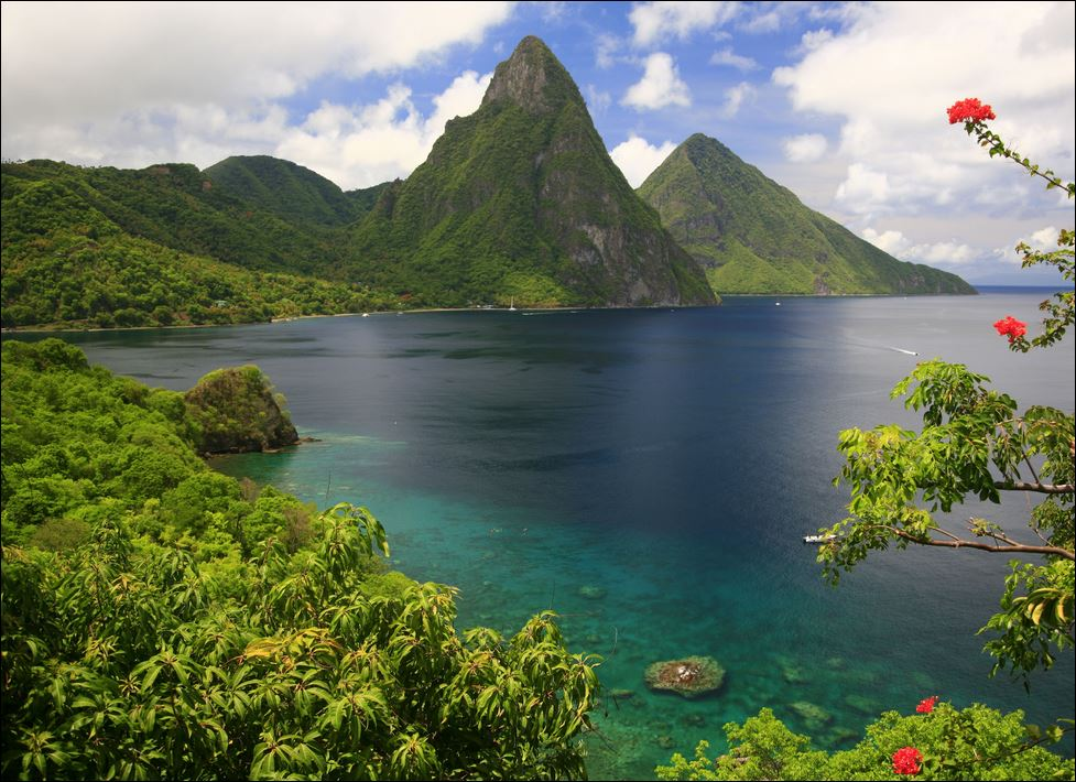 The Pitons on St. Lucia