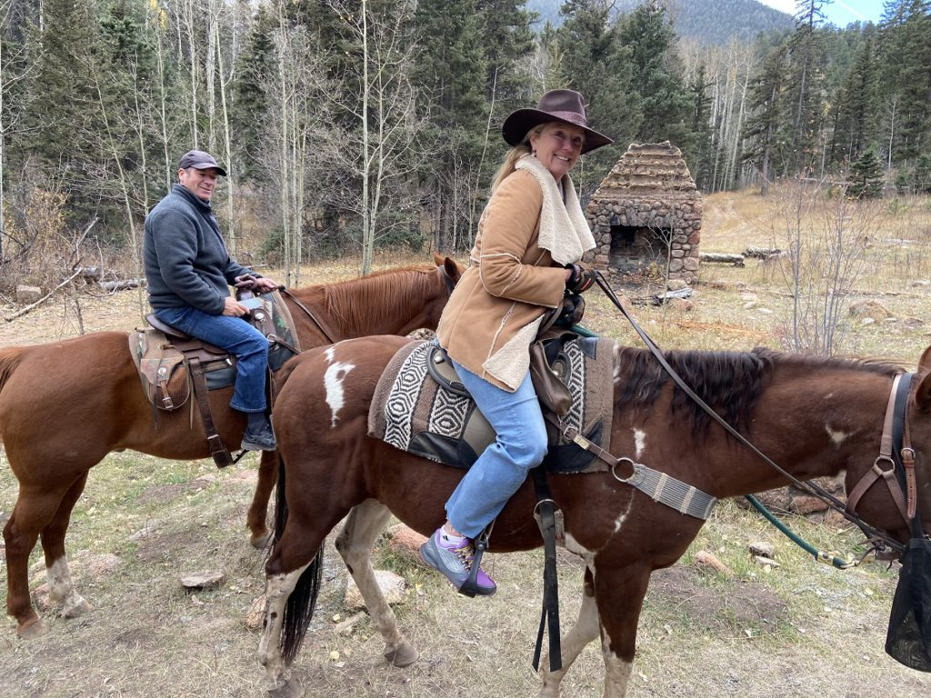 The Sissons celebrating 25th anniversary - Ranch at Emerald Valley