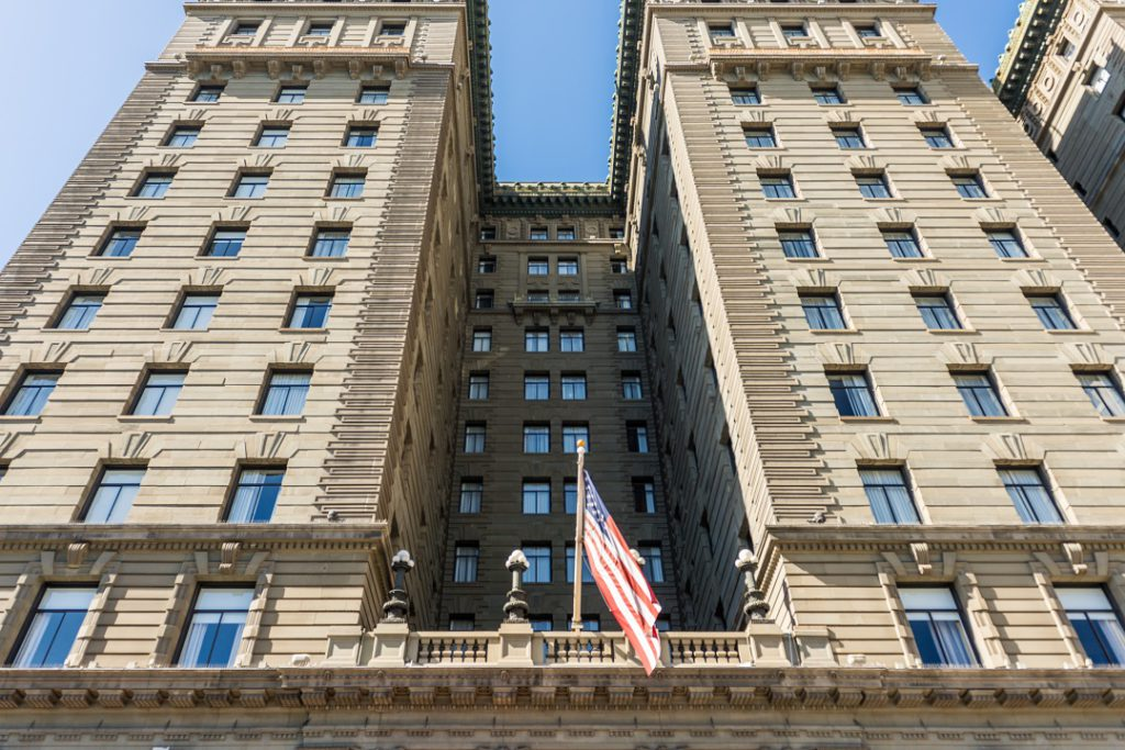 The The Westin St. Francis hotel on Union Square in San Francisco
