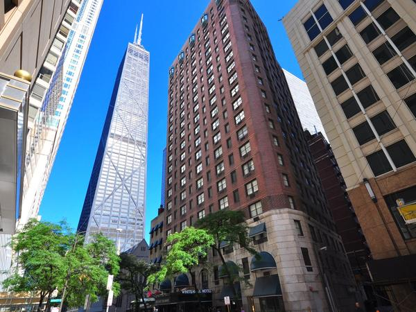 The Whitehall Hotel is convenient to everything on Chicago's near north side