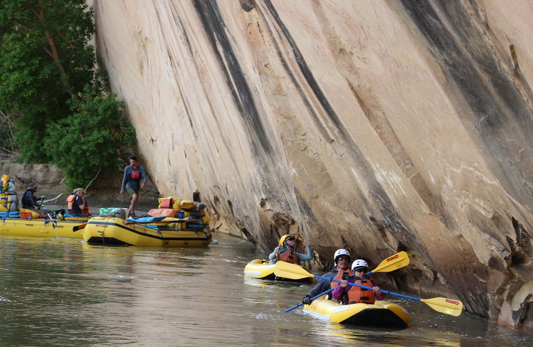 River rafting guides living their dreams