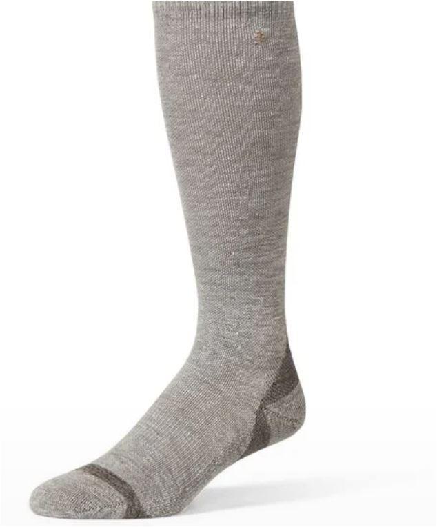 Travel compression hemp sock from Royal Robbins