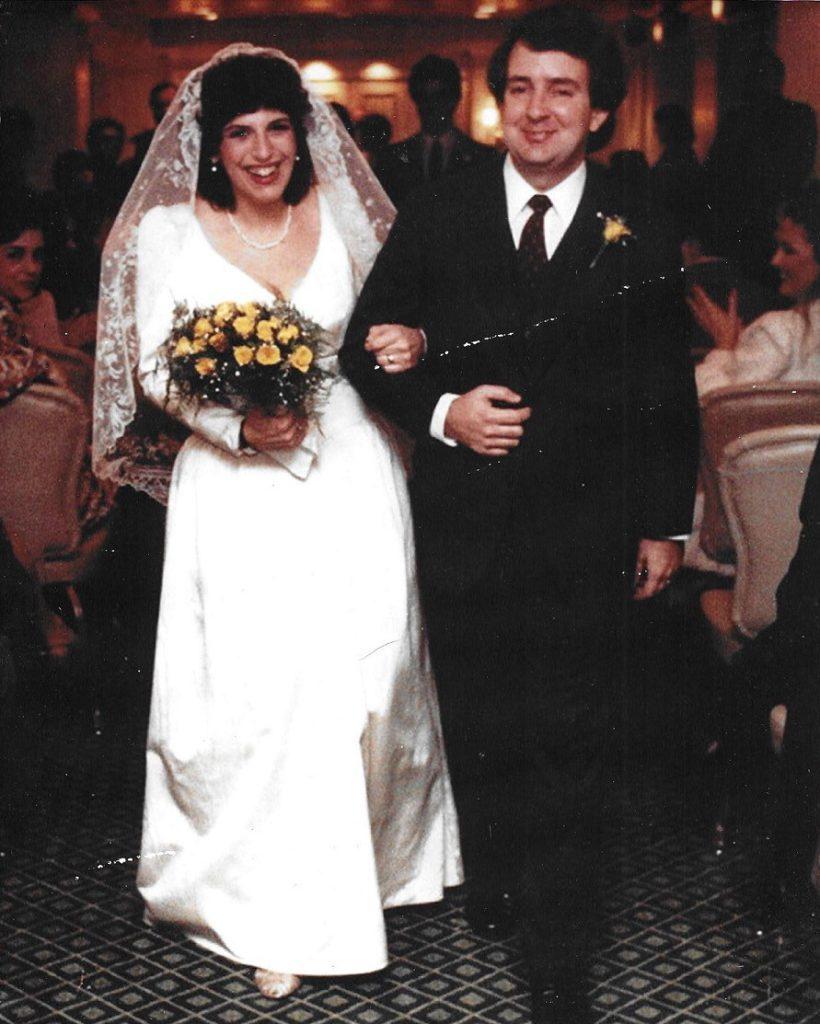 Our Whitehall wedding 1982