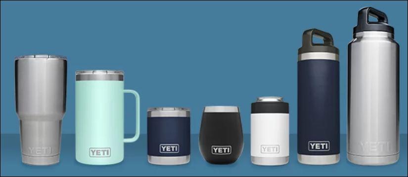 Yeti Rambler drinkware