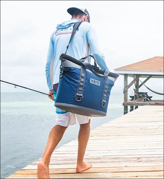 Yeti Soft Cooler in action