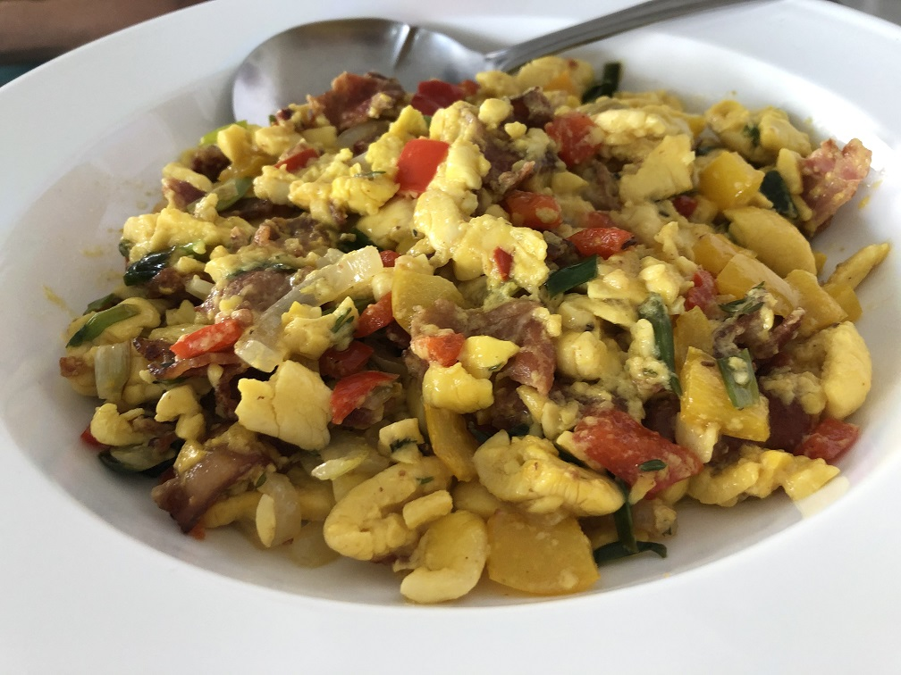 Ackee for breakfast