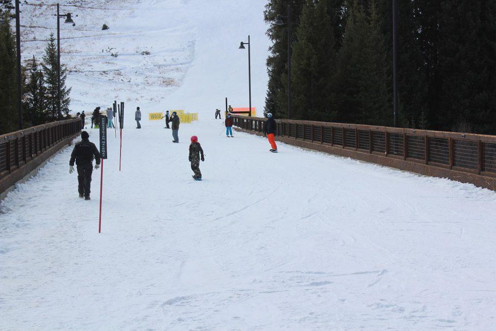 Keystone Resort in Colorado on Opening Day.