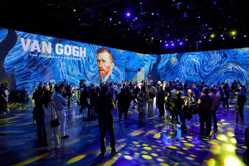 Van Gogh: The Immersive Experience at the Stanley Market in Aurora CO