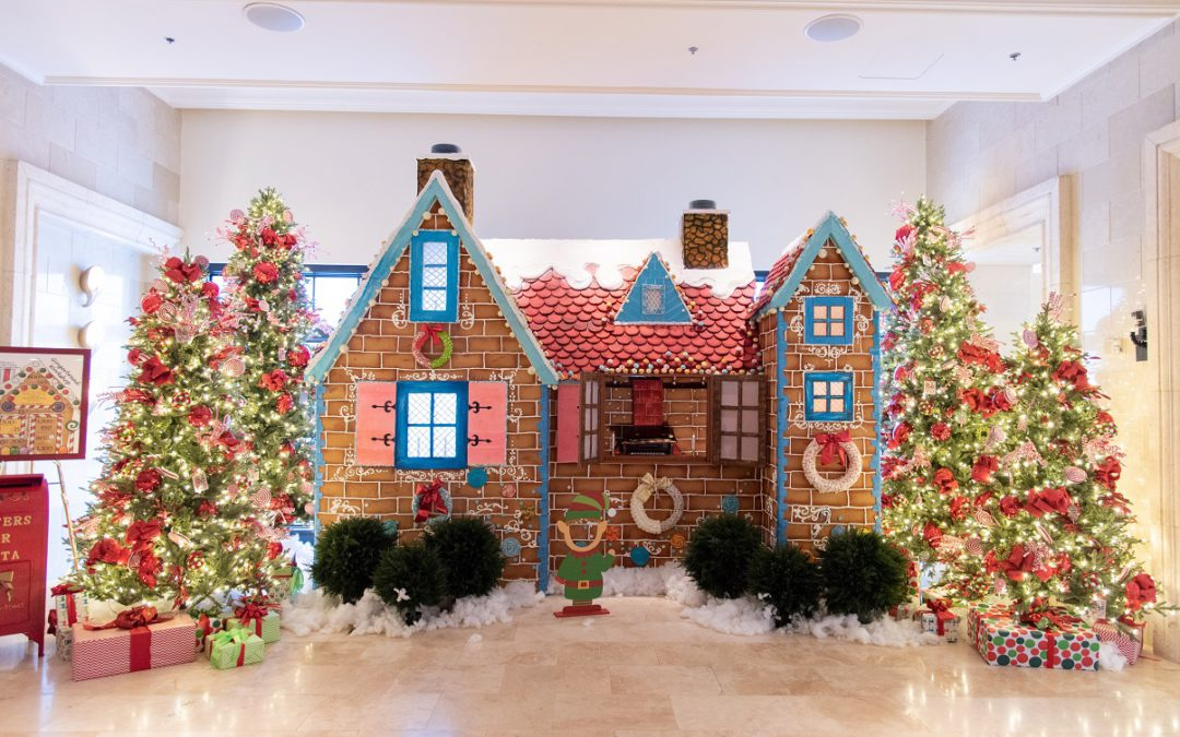 Getting creative with gingerbread this holiday season