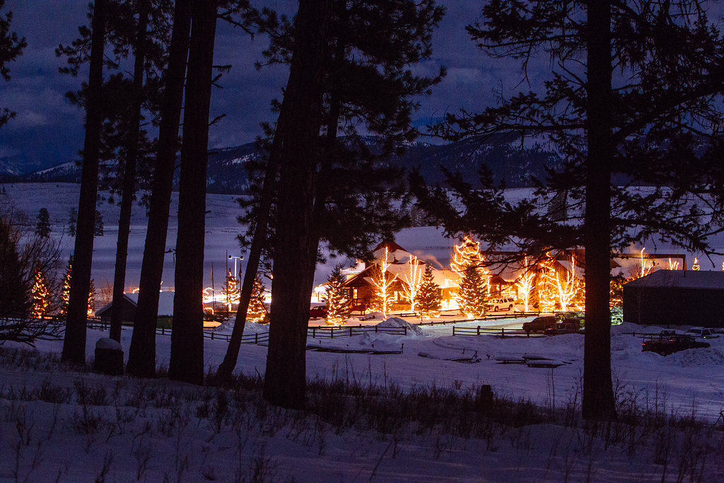 Winterfest at Paws Up in Montana