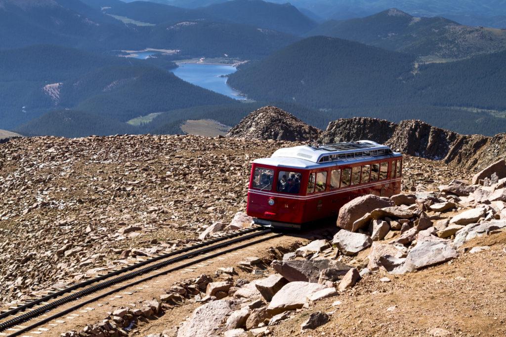 Pikes Peak Cog Railway.
