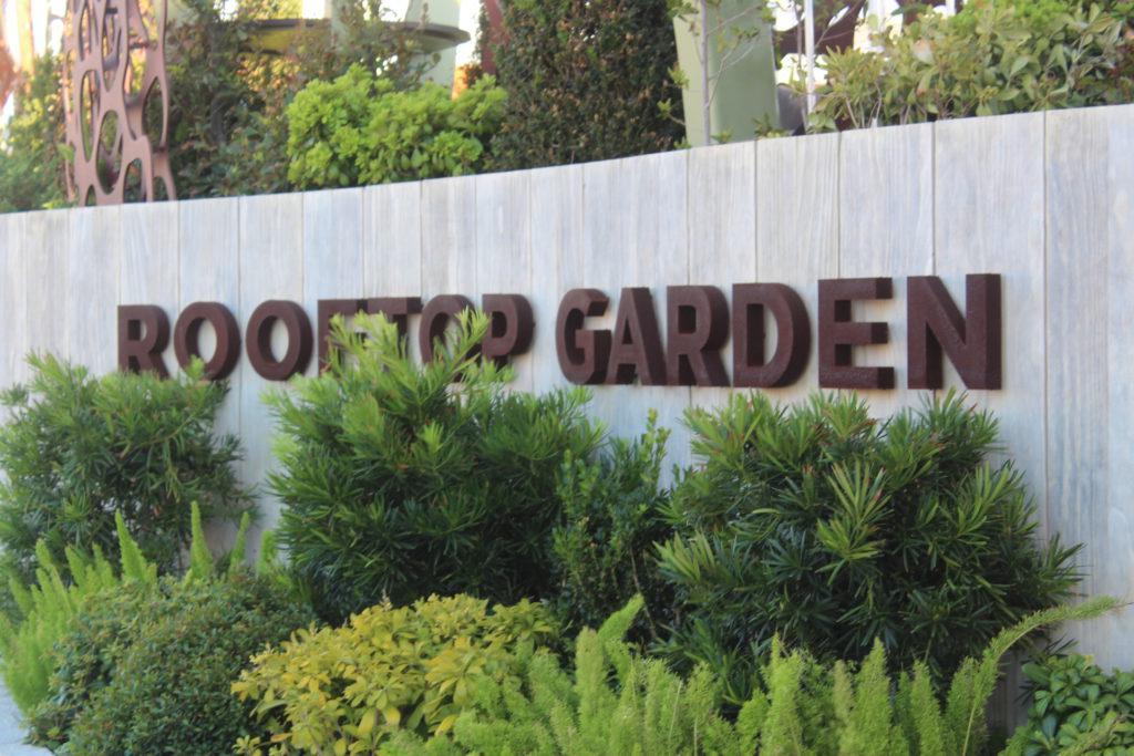Rooftop Garden on Celebrity Apex