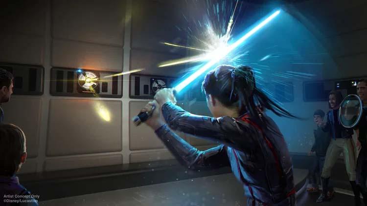 Star Wars: Galactic Starcruiser attraction