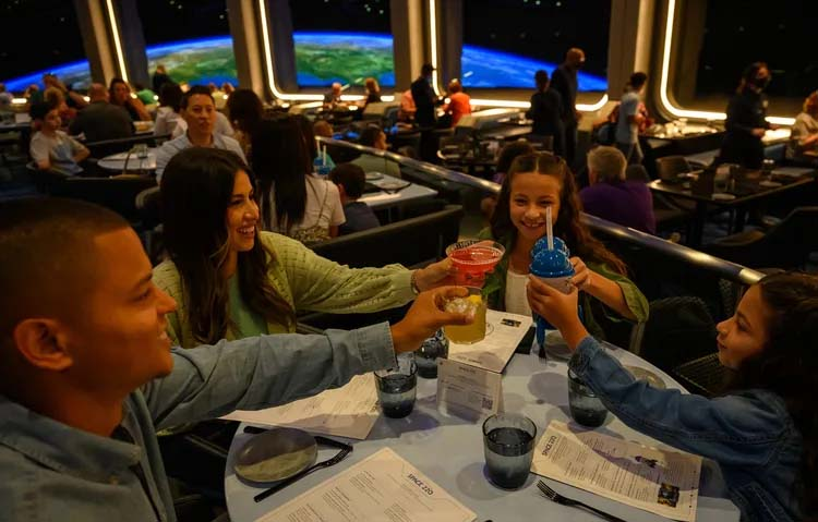 Eating your way through Disney World